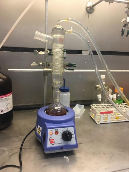 Ethanol reflux